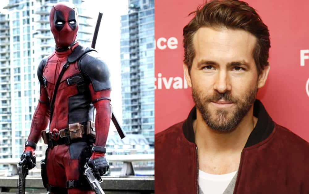 Deadpool- Ryan Reynolds