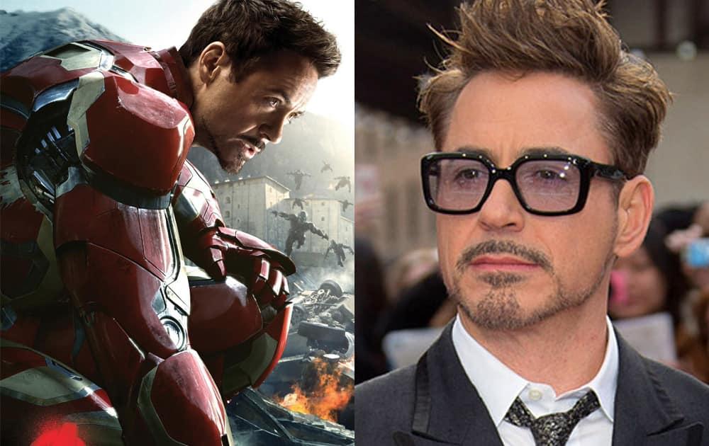 Ironman- Robert Downey Jr.