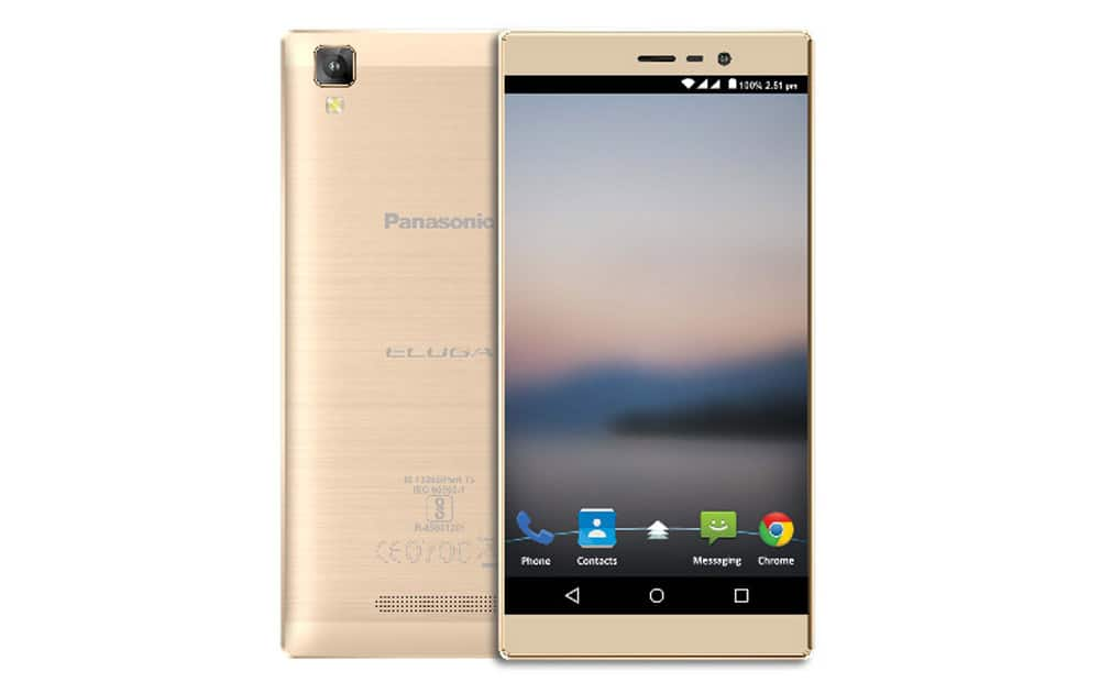 Panasonic Eluga A2, priced at Rs 9,490, sports a 5-inch HD IPS display, is equipped with 3GB RAM and 16GB internal memory with an option to expand up to 128GB.