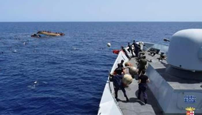 At least 700 dead after series of shipwrecks off Libyan coast