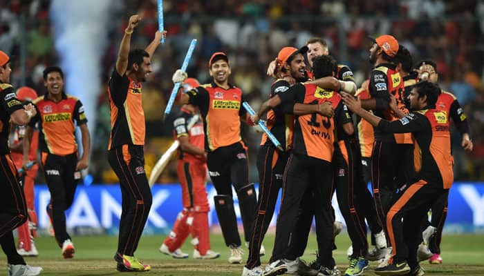 IPL 2016 Final: SunRisers Hyderabad defeat Royal Challengers Bangalore by 8 runs to win maiden title