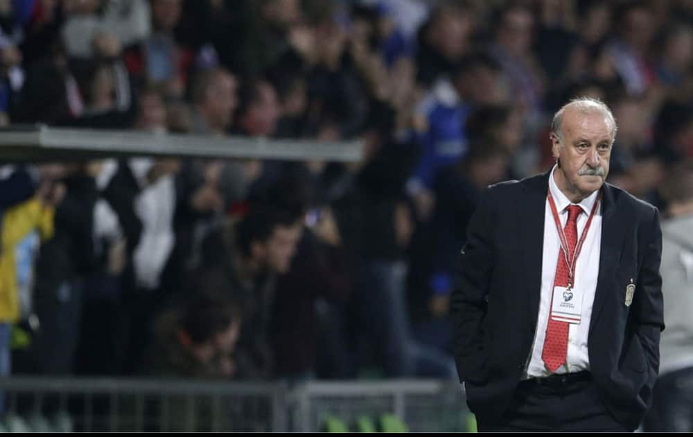 6) Vicente Del Bosque will be looking to win the tournament a second time with Spain, as no manager has been able to win the tournament twice.