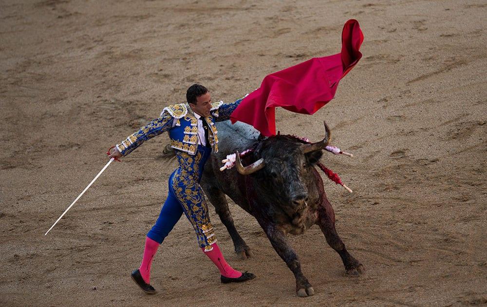 Spanish bullfighter Rafael Rubio