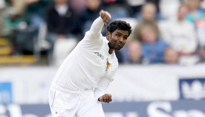 Sri Lanka vs England: Shaminda Eranga's bowling action comes under review