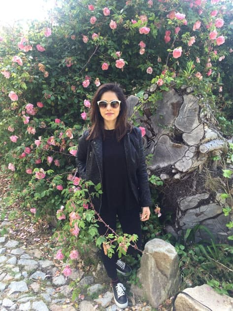 Rose garden at the Monserrate Palace in the beautiful Sintra- twitter@NushratBharucha