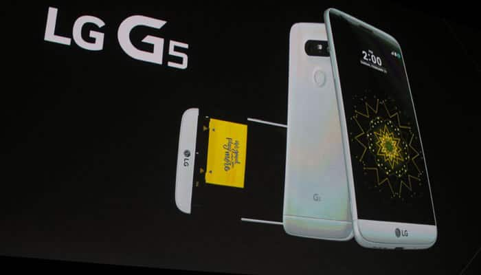 LG G5 modular smartphone with two rear cameras launched in India at Rs 52,990