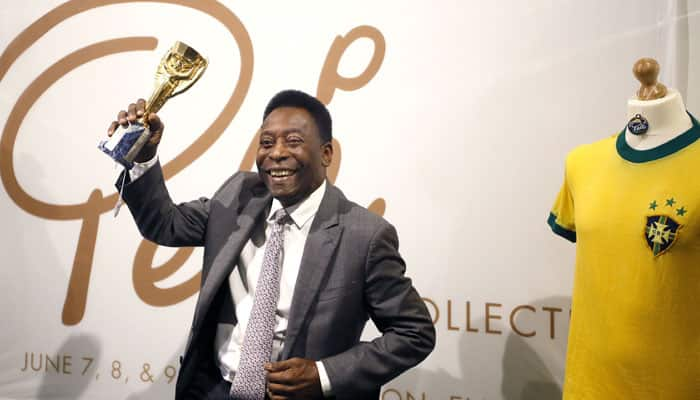 Biggest auction in sports: Pele to sell off his entire football history