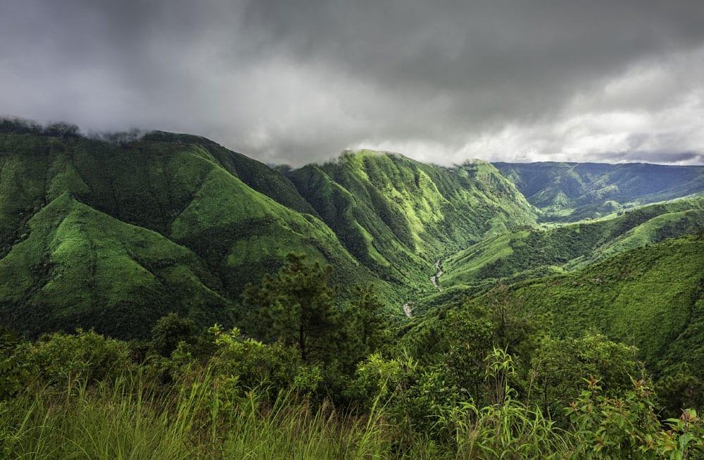 Storm clouds over Khasi Hills, Cherrapunjee, Meghalaya (Pic courtesy: Thinkstock Photos.)