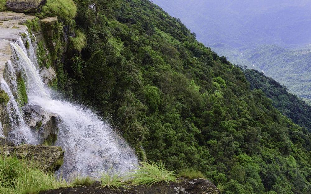 Seven Sisters Waterfalls, Cherrapunjee, Meghalaya. (Pic courtesy: Thinkstock Photos.)