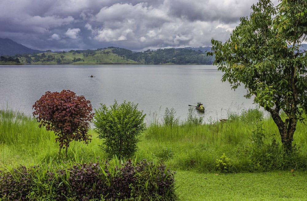 Boats on Umiam lake, Shillong, Meghalaya. (Pic courtesy: Thinkstock Photos.)