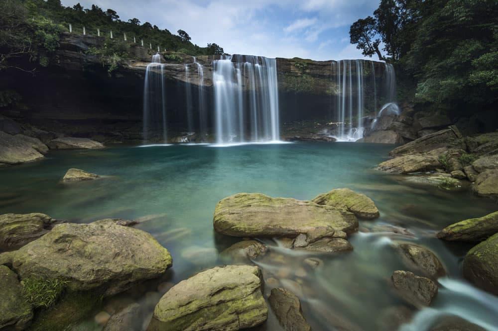 KrangSuri Falls Meghalaya. (Pic courtesy: Thinkstock Photos.)