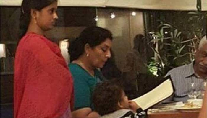Congress leader Renuka Chowdhury is facing flak on social media for THIS photo