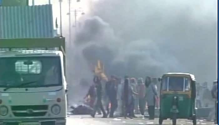 Clashes erupt during anti-encroachment drive in Mathura; 7 including SP killed, dozens injured