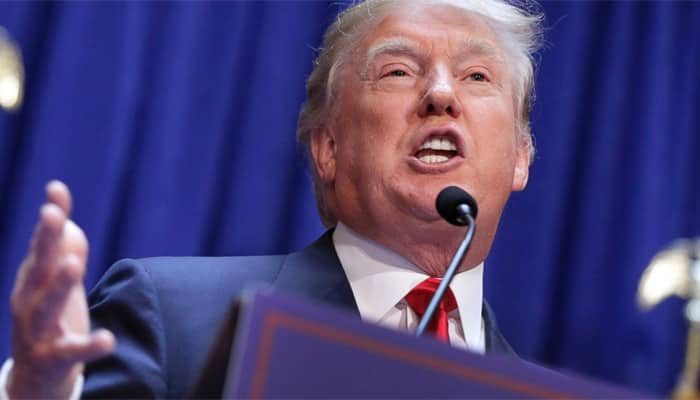 Donald Trump protesters, supporters clash outside California rally