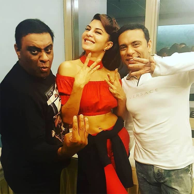 The real hero's of #houseful3 #sajidnadiadwala is missing in this pic! #dreamdirectors #sa… http://ift.tt/1Uy6AJP Twitter@Asli_Jacqueline