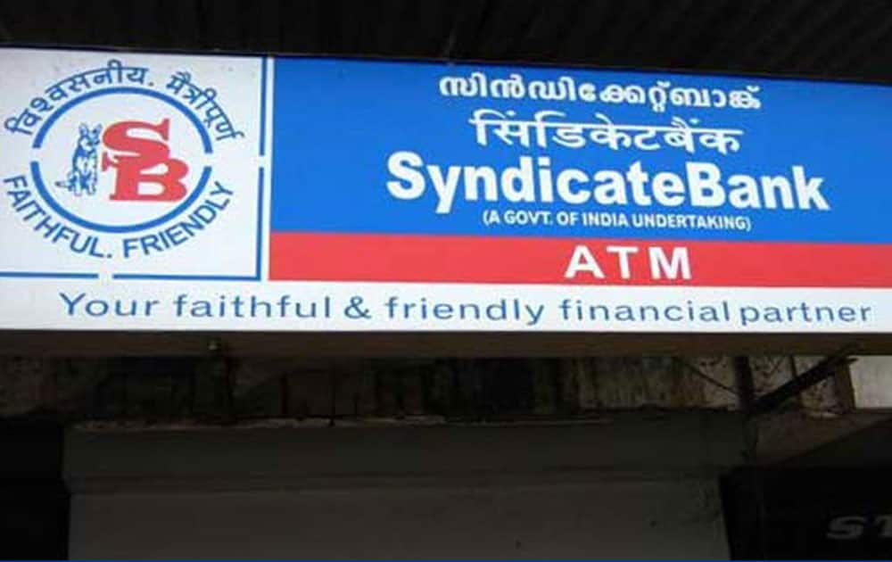 9. SYNDICATE BANK- Market capitalization - Rs 5,178.27 cr  till june 3, 2016