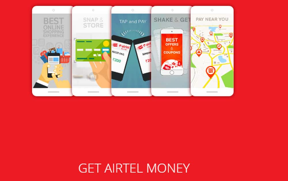 4. AIRTEL MONEY - It can be used to do recharges, make money transfers to contacts, shops and bank accounts, make bill payments and pay for online shopping and book train tickets as well. Airtel Money is a semi-closed wallet that doesn't permit cash withdrawal or redemption by the customer.