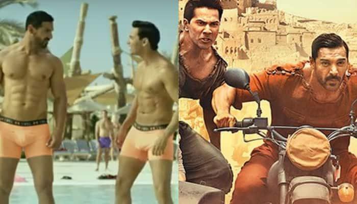 Varun Dhawan, John Abraham's take on 'underwear scene' in 'Dishoom' trailer is HILARIOUS! – Watch