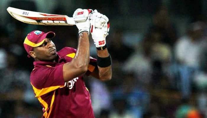 Kieron Pollard becomes 4th West Indies batsman to hit 100 sixes in ODIs