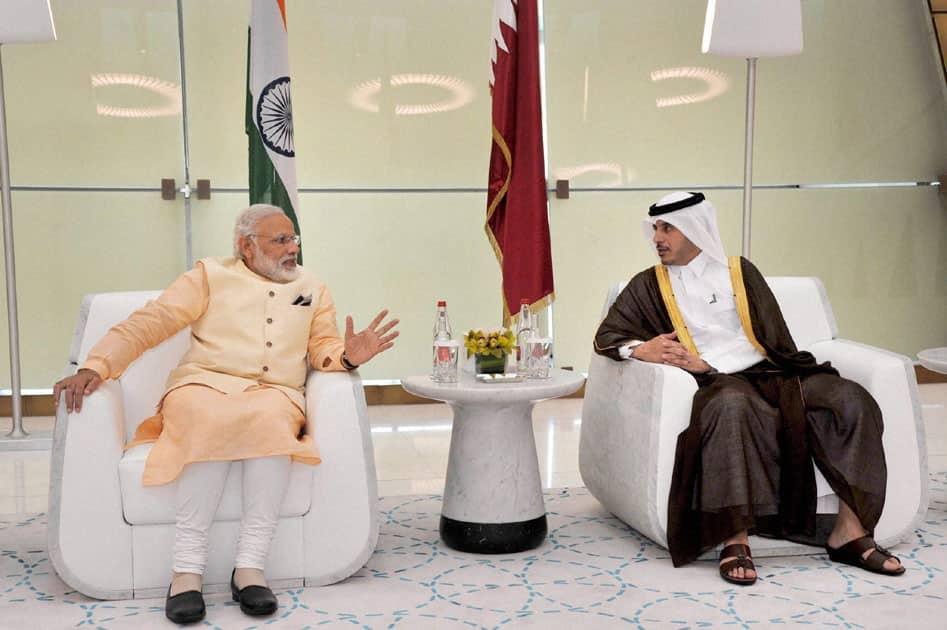 Prime Minister in Doha, Qatar.
