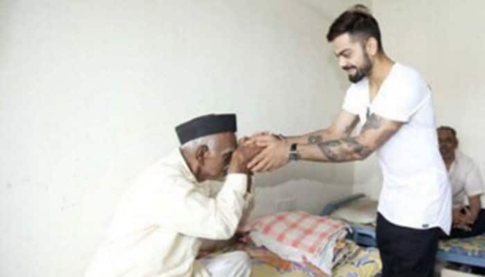 Did Virat Kohli donate 50% of IPL earnings to Pune old-age home