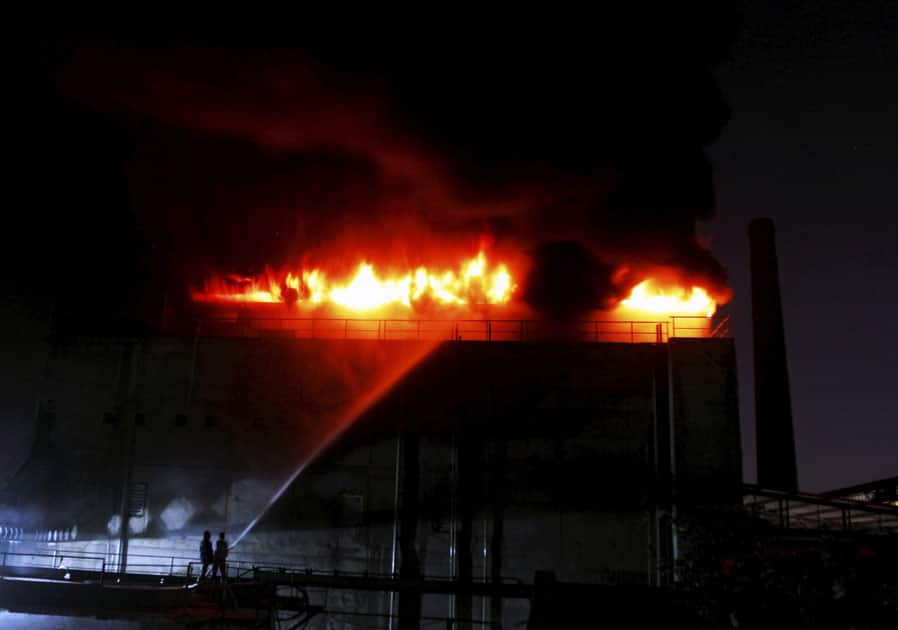 fire in Ahmedabad