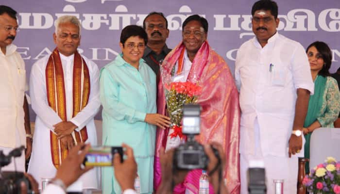 When Puducherry's new Lt Governor Kiran Bedi felt ashamed and sorry