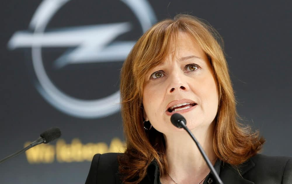 Mary Barra, CEO, General Motors, US