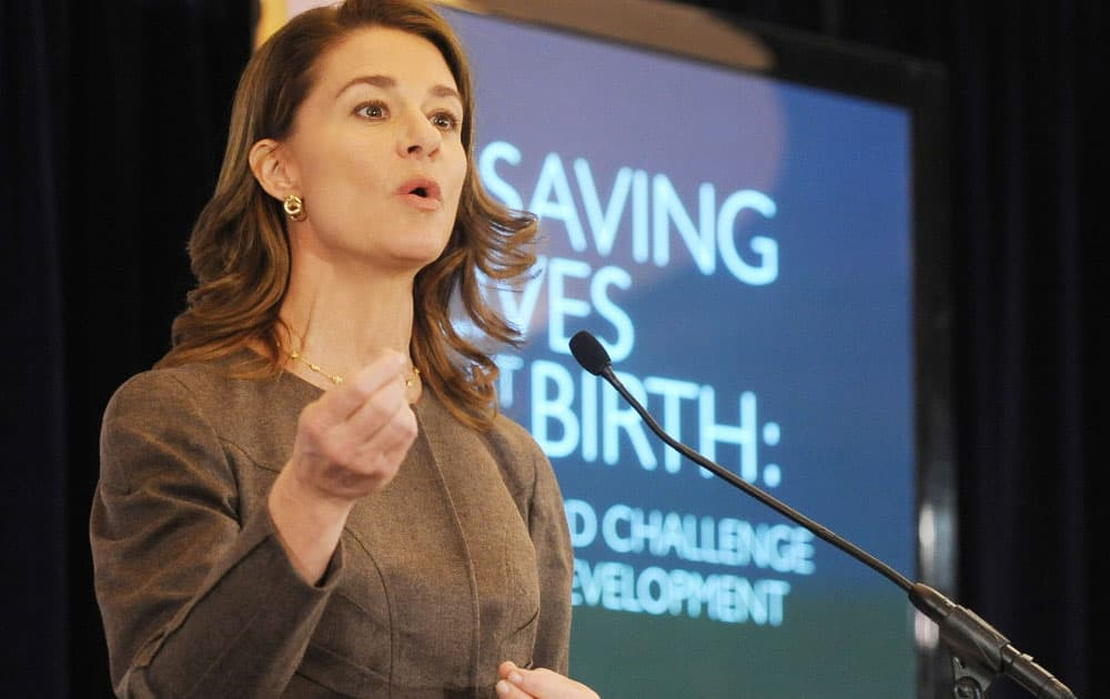 Melinda Gates, Cochair, Bill & Melinda Gates Foundation