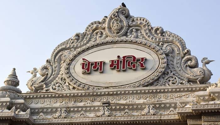This Shri Krishna Temple in Vrindavan is a wonder in white marble