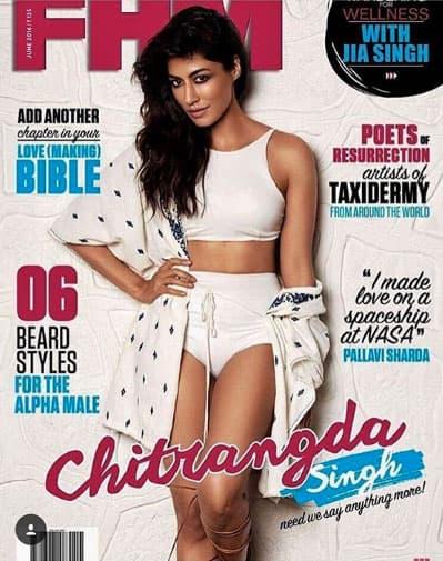 PhotoShoot For FHM- Chitrangda Singh