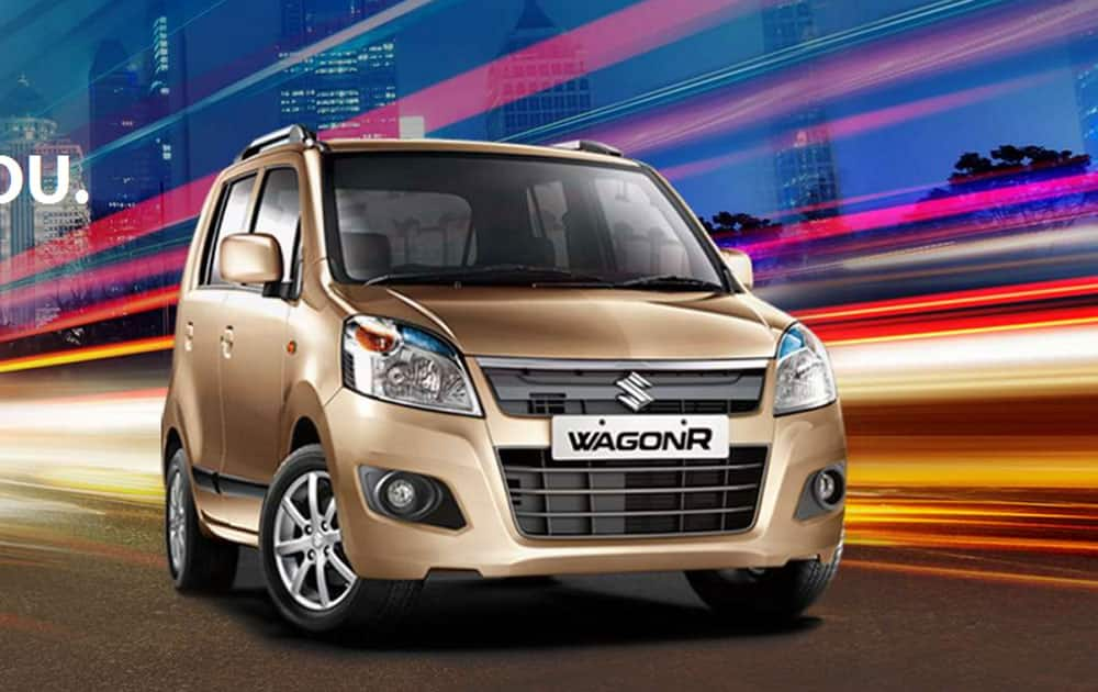 Maruti WagonR: India's 3rd best selling car in May 2016