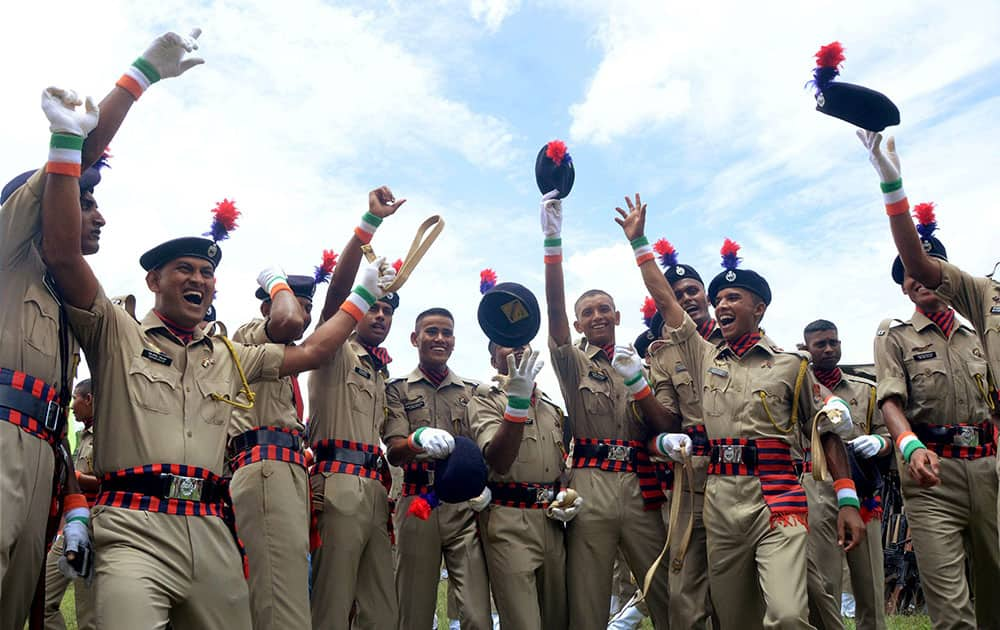 Tripura police constables