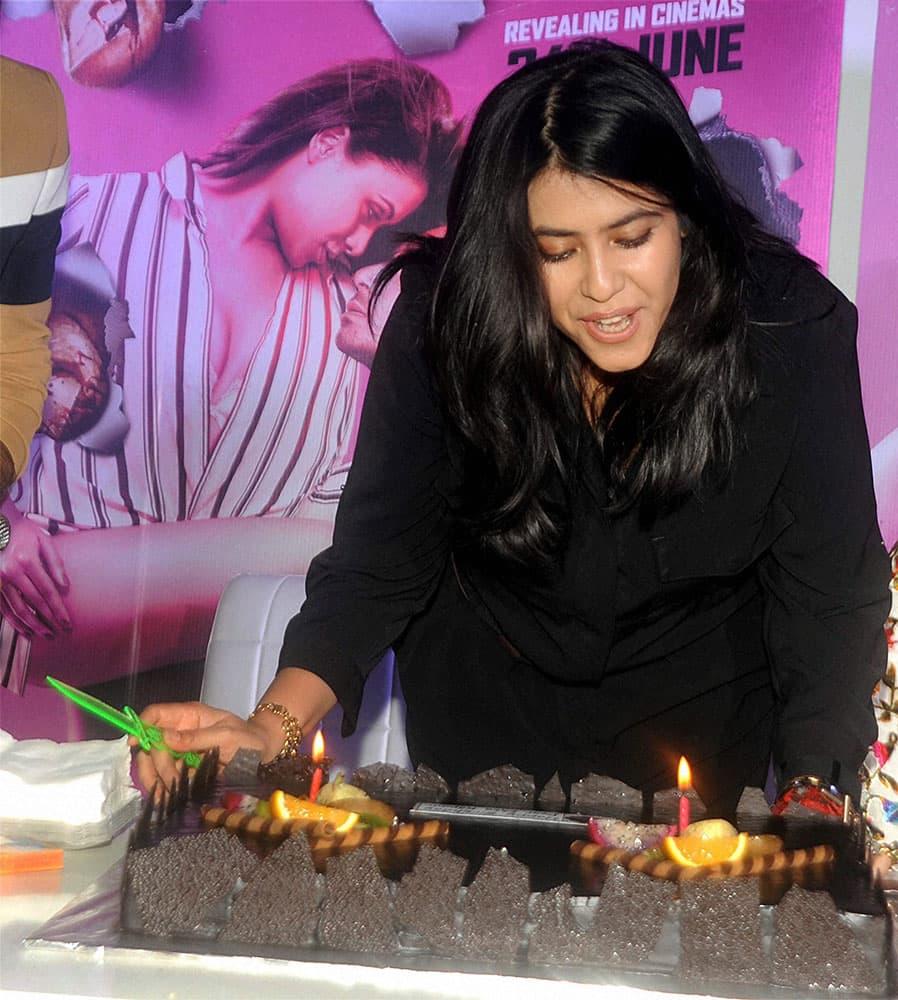 Ekta Kapoor celebrates her birthday in Mumbai