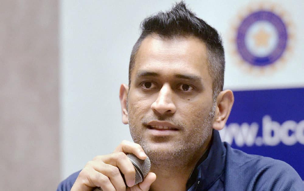Dhoni's huge experience