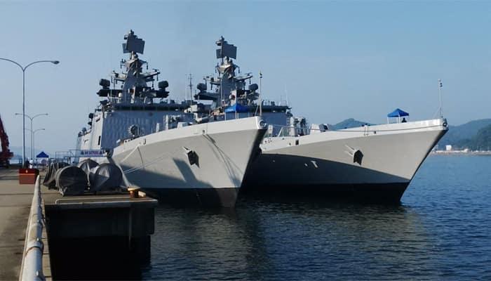 India-US-Japan 'Malabar' joint military exercise begins