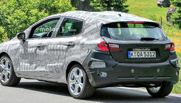Spied! Ford Fiesta in next-generation avtaar