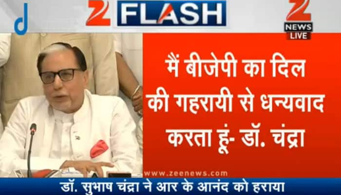 Dr Subhash Chandra terms Haryana Rajya Sabha polls as BJP v/s rest; says he knows how to win 'lost battle'