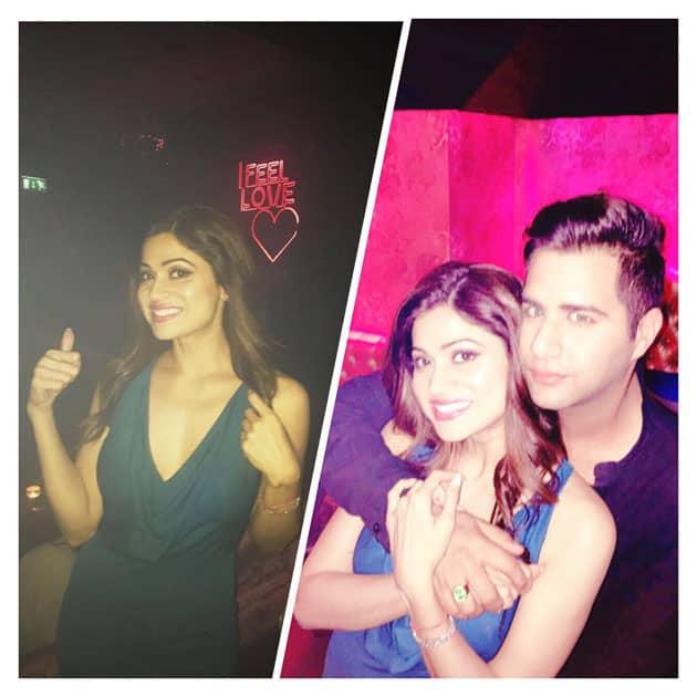 #funtimes #partytime with ma bro!- Shamita Shetty