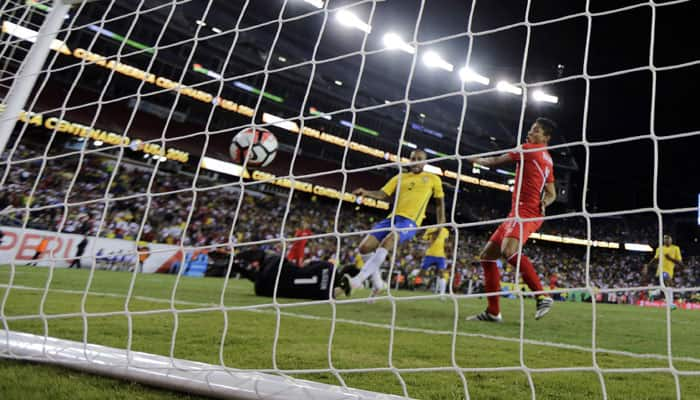 Copa America: Peru knock Brazil out from tournament after controversial handball goal
