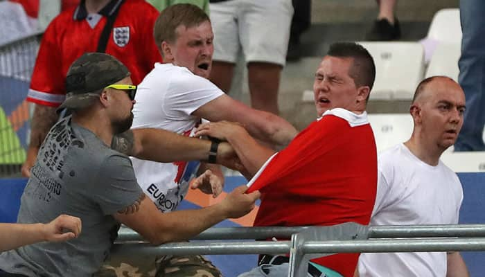 150 'well-trained' Russians 'behind' Euro 2016 violence; 2 England fans  jailed