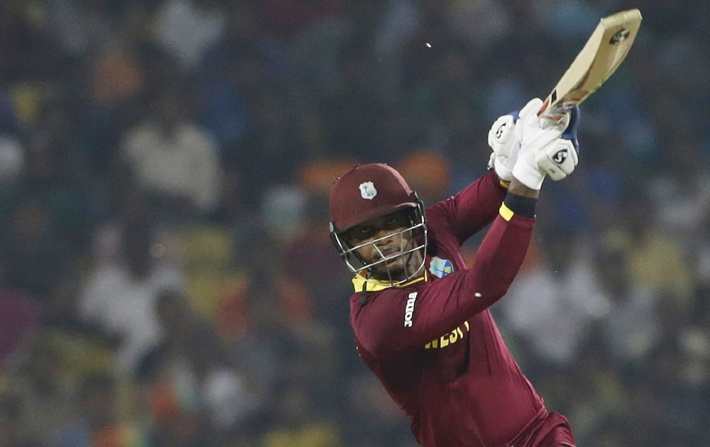Tri-Nation series, Match 5: Marlon Samuels shines as hosts West Indies beat Australia by 4 wickets