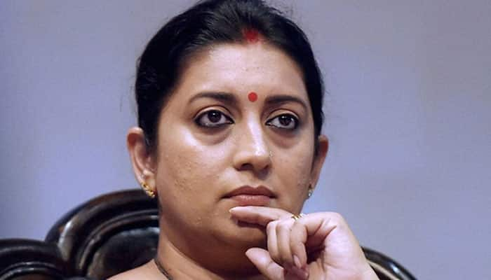 After Twitter war, Bihar minister apologises to Smriti Irani; wonders what was so offensive in word 'Dear'