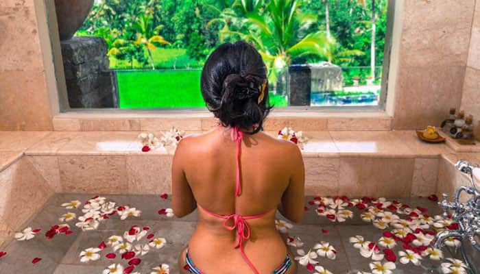 Vacation diaries: This multi-talented TV personality flaunts her curvy frame in style