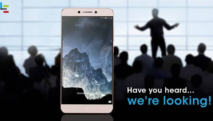 LeEco's recruitment for 200 CEOs opens today; get your chance to win Le 2 smartphone