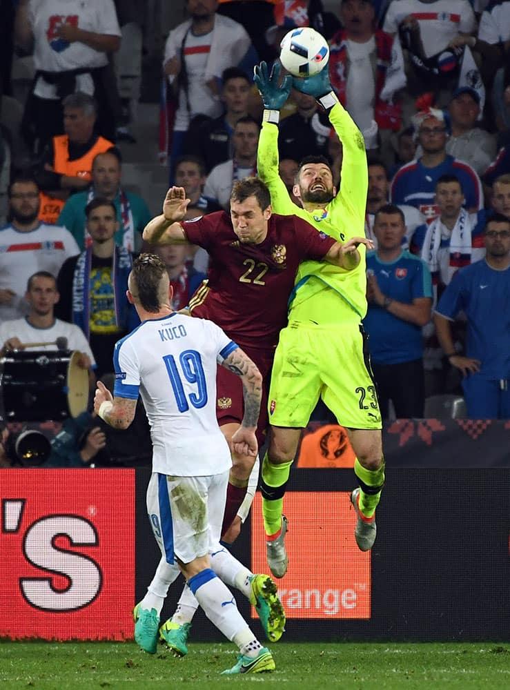 Euro 2016: Match 13, Russia VS Slovakia
