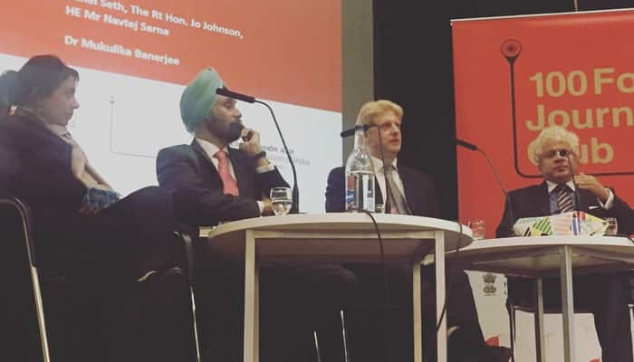 Row erupts over Indian envoy's presence at London book launch event also attended by Vijay Mallya