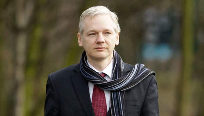 Angry Julian Assange starts 5th year cooped in London embassy