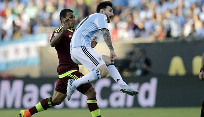 Lionel Messi equaled this astonishing record in Argentina's 4-1 win over Venezuela