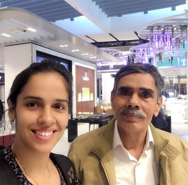 Happy Father's Day- Saina Nehwal